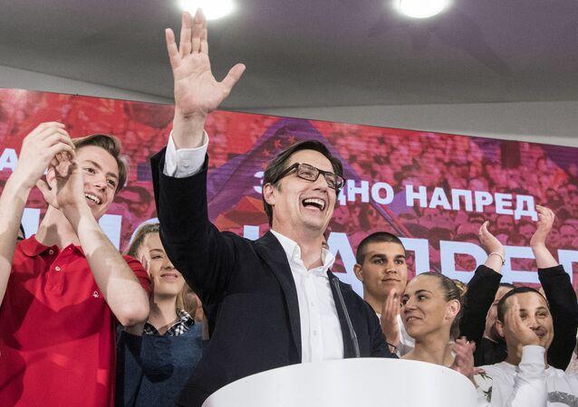 Nový severomakedonský prezident Stevo Pendarovski
