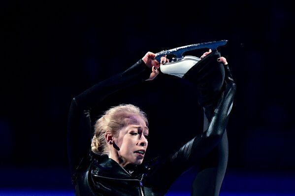 Američanka Bradie Tennellová během představení na mistrovství světa v krasobruslení v Saitamě - Sputnik Česká republika