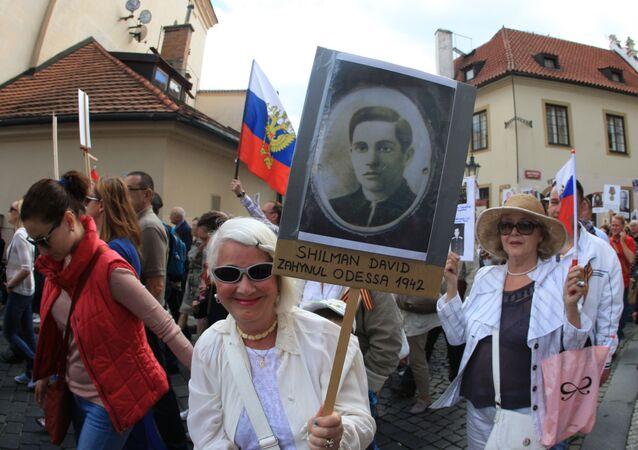 Nesmrtelný pluk v Praze