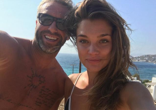 Petr Nedvěd a jeho nová láska Nicole