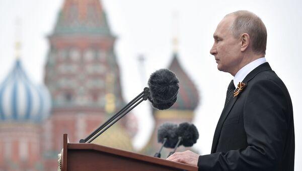 Projev prezidenta Ruské federace - Sputnik Česká republika