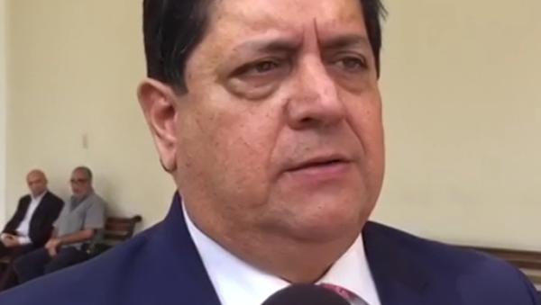Místopředseda opozičního parlamentu Edgar Zambrano - Sputnik Česká republika