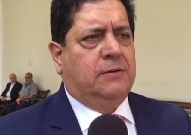 Místopředseda opozičního parlamentu Edgar Zambrano