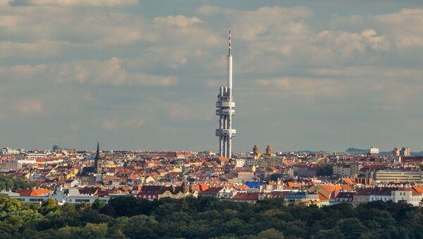 Žižkovská televizní věž v Praze - Sputnik Česká republika