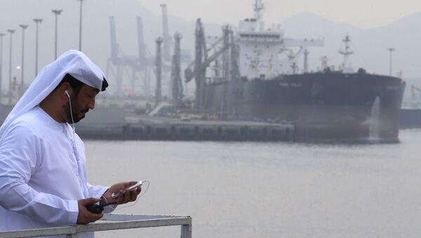 Ropný tanker v přístavu Al Fujairah - Sputnik Česká republika