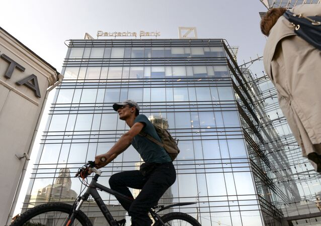 Sídlo banky Deutsche Bank v Moskvě