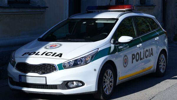 Auto slovenské policie - Sputnik Česká republika