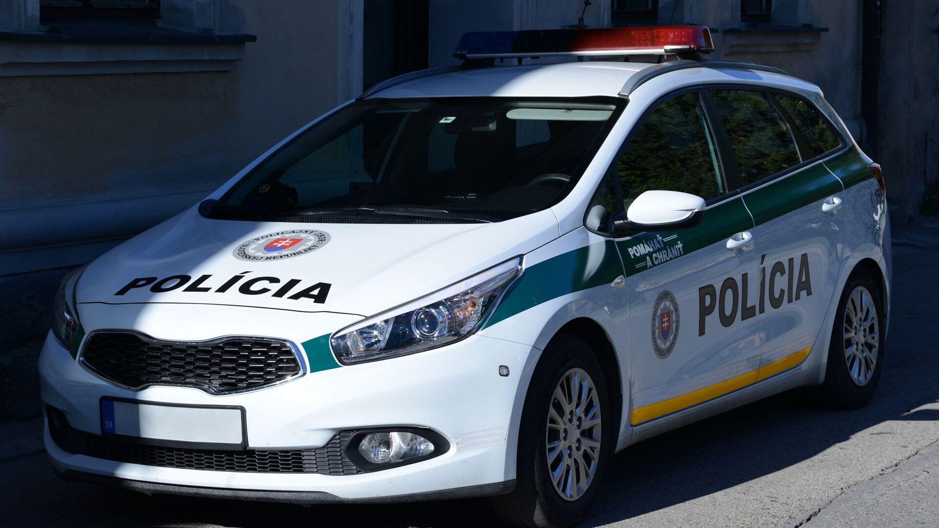 Auto slovenské policie - Sputnik Česká republika, 1920, 02.07.2021