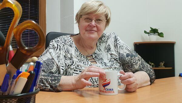 Jana Volfová, předsedkyně Suverenity - Sputnik Česká republika