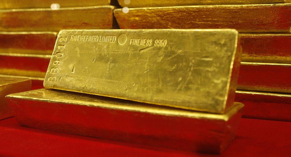 Zlaté pruty v České národní bance