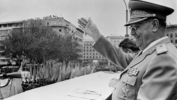 Bývalý prezident Socialistické federativní republiky Jugoslávie Josip Broz Tito - Sputnik Česká republika