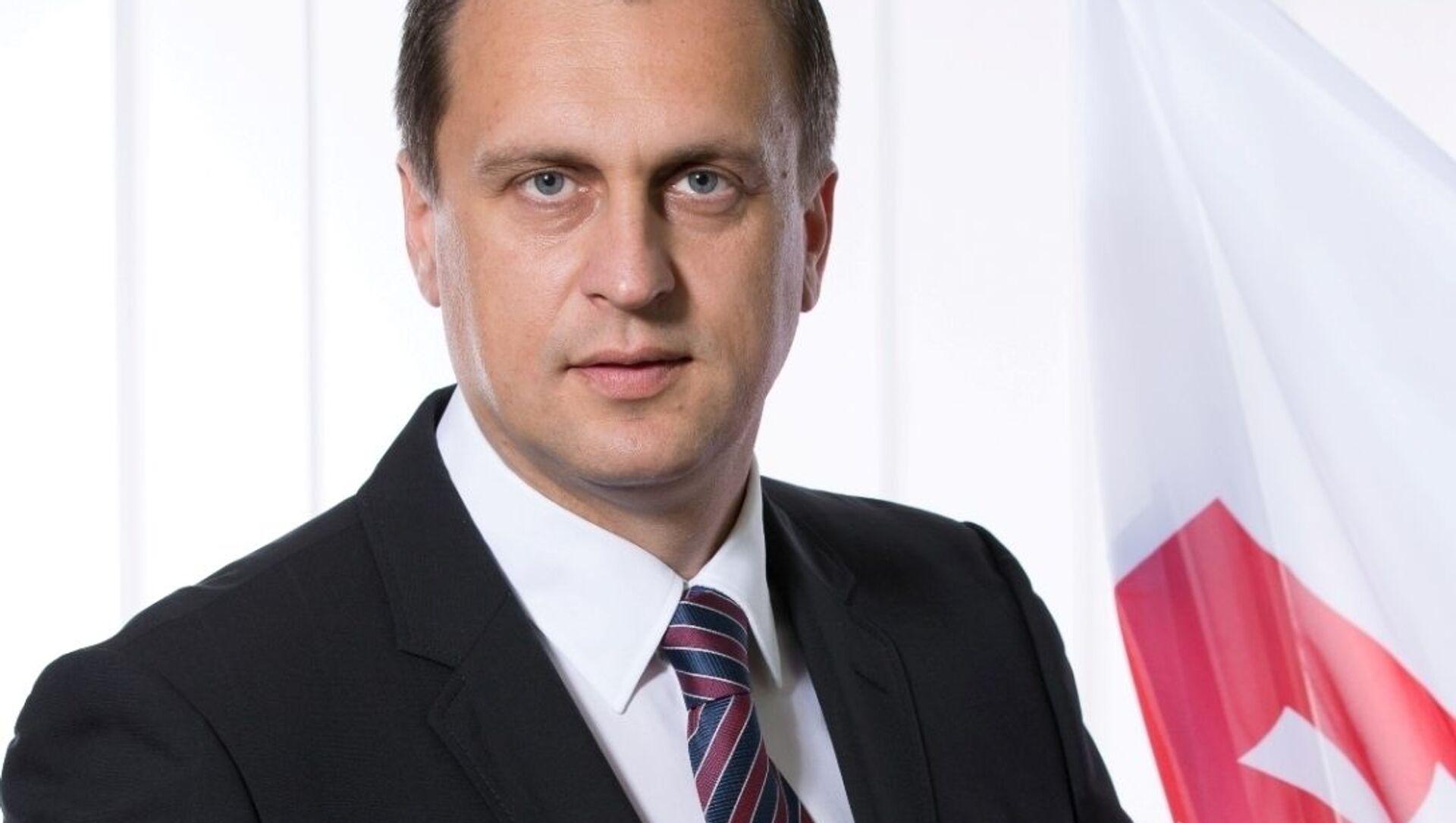 Bývalý předseda slovenské Národní rady Andrej Danko - Sputnik Česká republika, 1920, 18.02.2021
