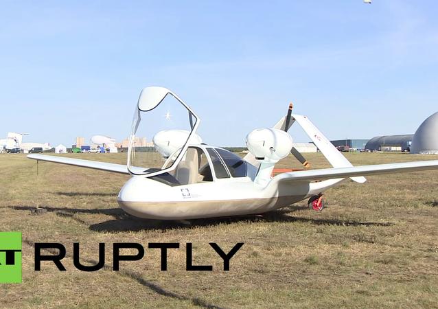 Nejnovější ruský dron byl představen na MAKS