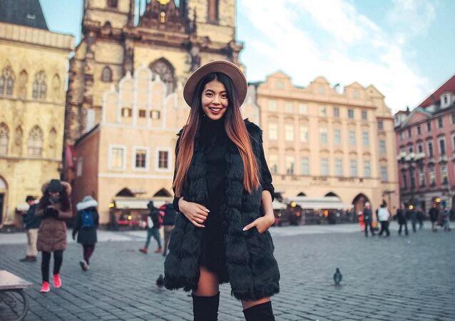 Slavná bloggerka  Bé Hà