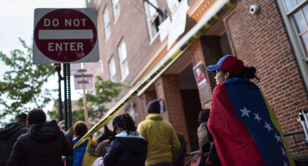 Velvyslanectví Venezuely v USA