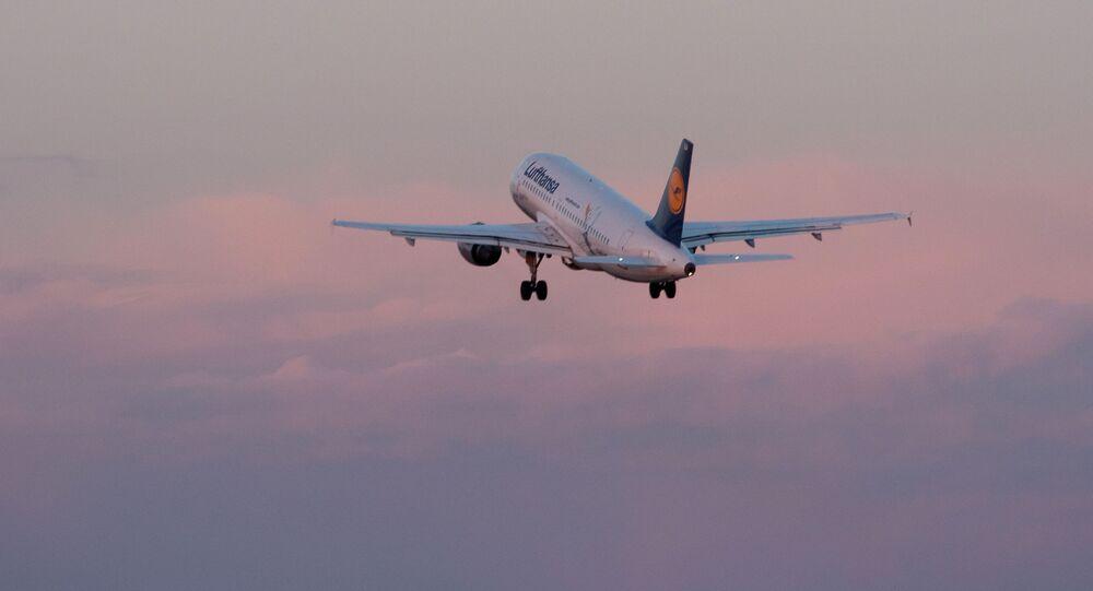 Letadlo společnosti Lufthansa