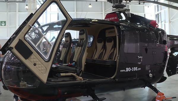 Nejmodernější vymoženosti odvětví vrtulníků z celého světa  na Mezinárodní výstavě HeliRussia 2019 (VIDEO) - Sputnik Česká republika