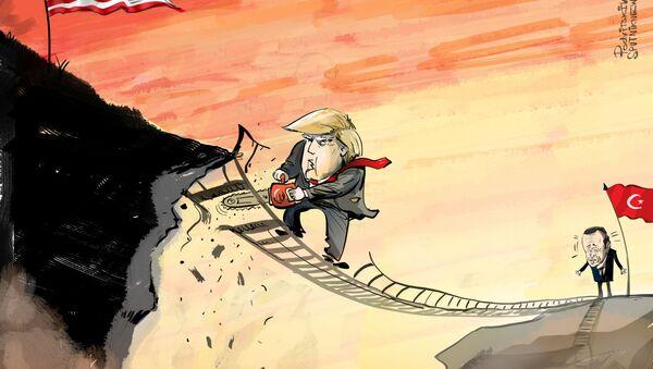 Trump boří mosty s Tureckem - Sputnik Česká republika