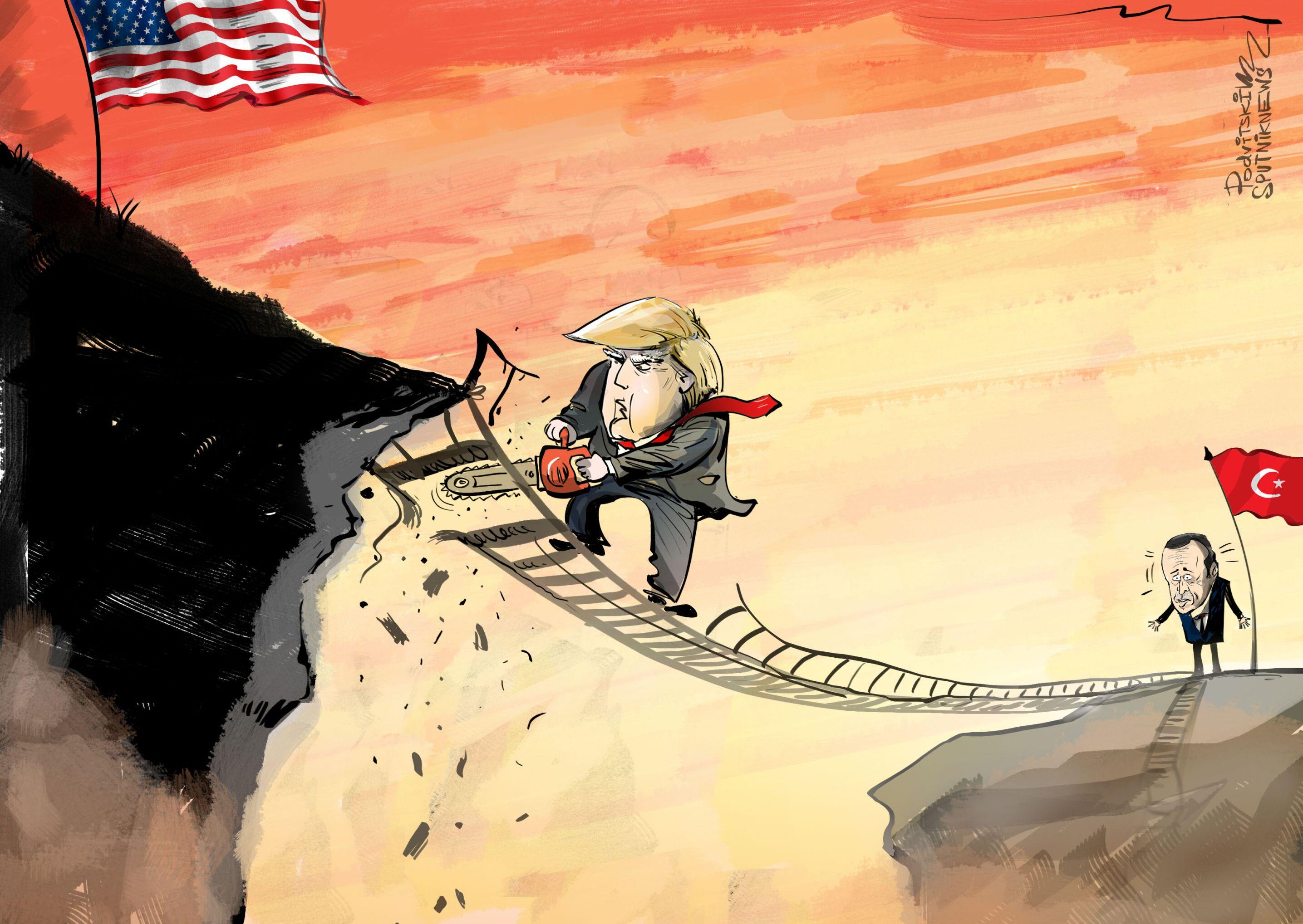 Trump boří mosty s Tureckem
