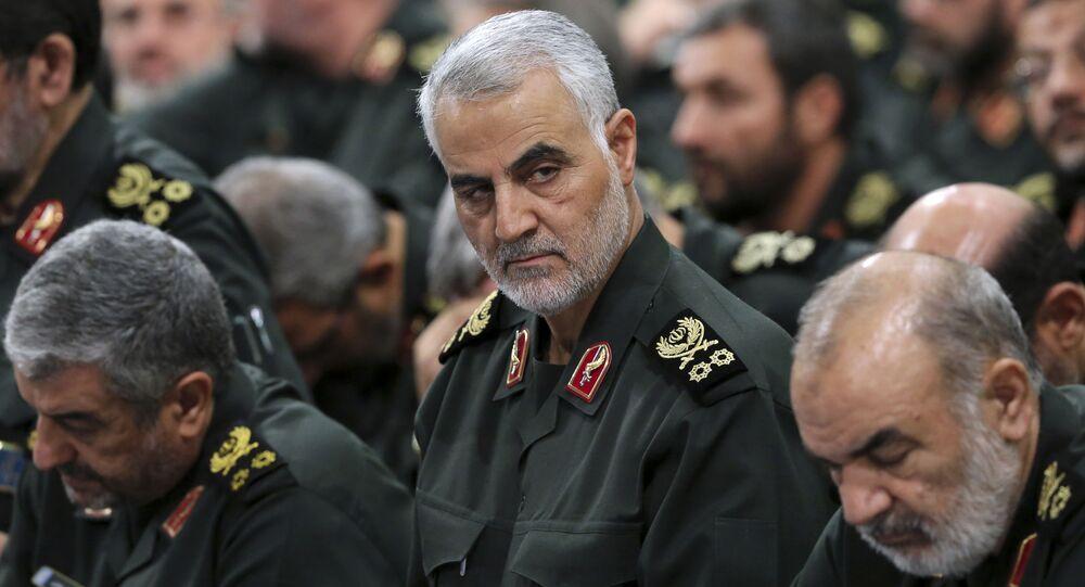 Velitel elitních íránských jednotek Kuds Kásim Sulejmaní