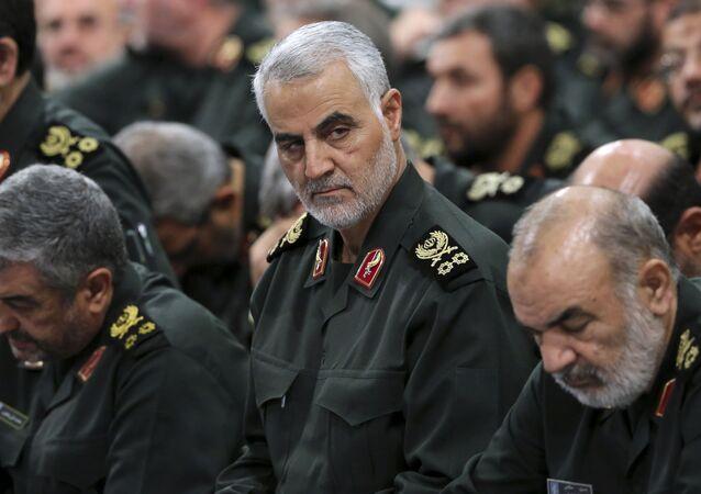 Velitel elitních íránských jednotek Quds Kásim Sulejmaní