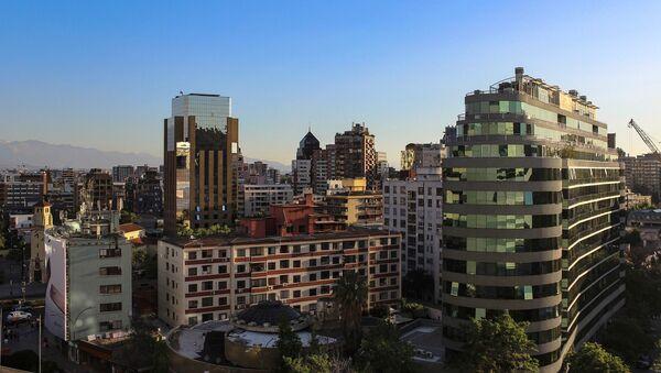 Pohled na město Santiago de Chile - Sputnik Česká republika