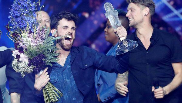 Vítěz Eurovize 2019 nizozemský zpěvák Duncan Laurence - Sputnik Česká republika