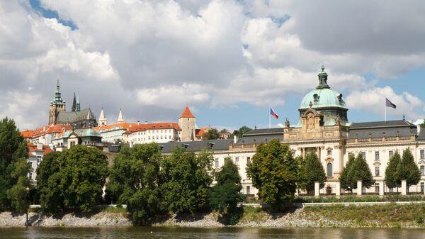 Pohled na Strakovu akademii, kde sídlí česká vláda - Sputnik Česká republika
