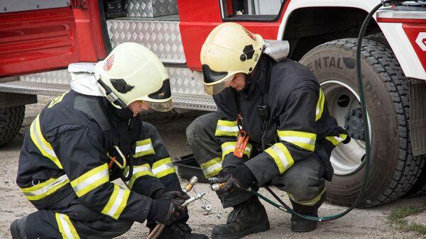 Slovenští hasiči - Sputnik Česká republika