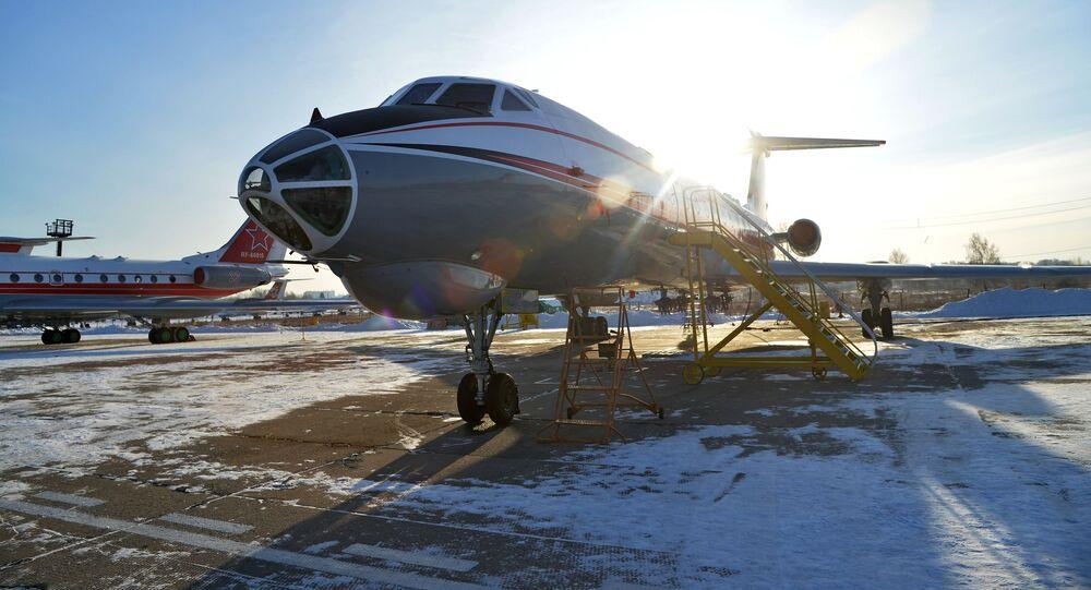 Letadlo Tu-134