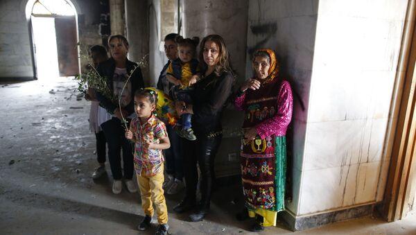 Křesťané v Iráku - Sputnik Česká republika