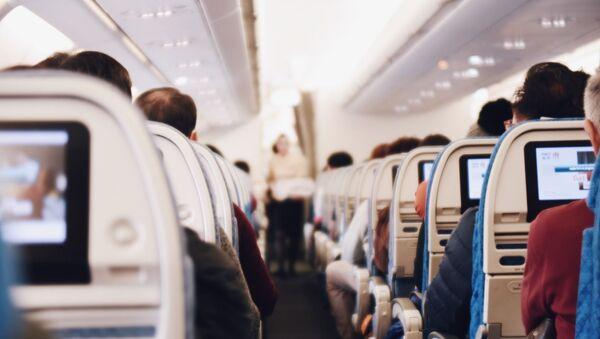 Cestující v letadle - Sputnik Česká republika