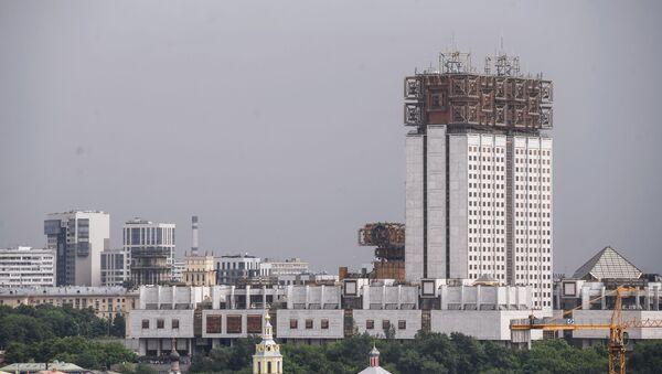 Pohled na budovu Ruské akademie věd v Moskvě - Sputnik Česká republika