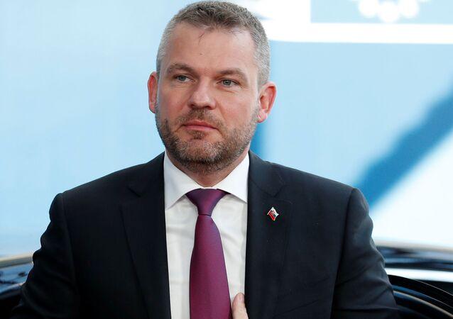 Slovenský předseda vlády Peter Pellegrini