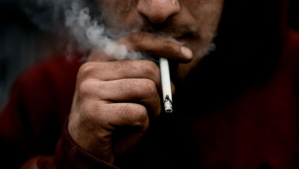 Kouřící muž - Sputnik Česká republika